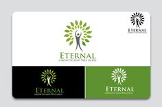 logo design for Eternal growth and Wellness is a Spiritually Inspired Life Coaching and Natural Therapy