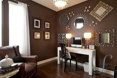 Love this office makeover done by the Simply Inspired Home