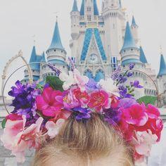 Floral Flower Mickey Ears @ Magic Kingdom, Walt Disney World