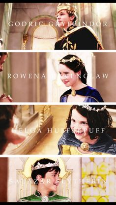 The Four Founders of Hogwarts