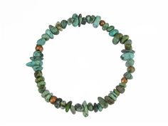 African Turquoise Pebbles from Northern Cape South Africa w/ Kenya Copper Bracelet #a253 by SimplyAfricanJewelry on Etsy