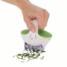 Zyliss FastCut Herb Tool, Green