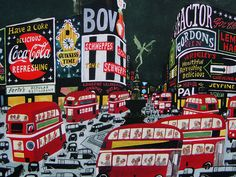 Piccadilly Circus, from M. Sasek's This Is London.
