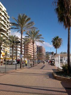 Playa Torreblanca in Fuengirola, Andalucía
