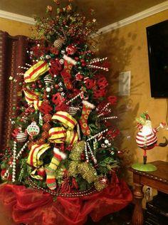 Arbol de navidad navidad pinterest navidad - Arbol de navidad decorado ...