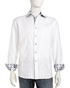 1a63b6d5cd Robert Graham Hyster Embroidered Shirt. Shop Hyster Embroidered Shirt from  ...