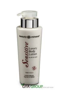 Beauty Mineral Dead Sea Luxury Body Lotion for all skin type, Sensitive series