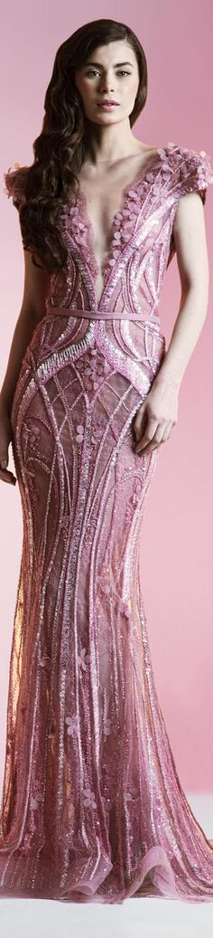 Ziad Nakad Haute Couture Spring/Summer 2014. Jaglady