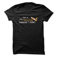 Cigar smoking T Shirts, Hoodies, Sweatshirts. CHECK PRICE ==► https://www.sunfrog.com/LifeStyle/Cigar-smoking-shirt.html?41382
