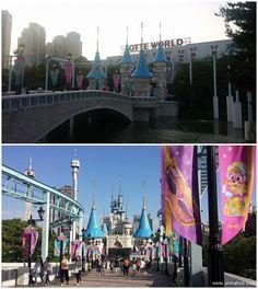 Millainen on korealainen huvipuisto? Testissä Lotte World Lotte World, Sissi, Atlantis, Soul, Korea, Traveling, Viajes, Trips, Korean
