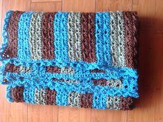 Triple Double With a Twist Baby Blanket Tutorial ༺✿ƬⱤღ  http://www.pinterest.com/teretegui/✿༻