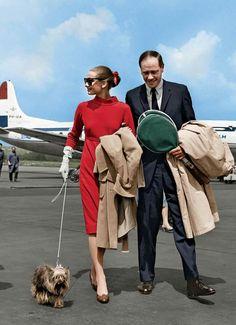 See Audrey Hepburn, Frank Sinatra, Elizabeth Taylor, and more stars of the Jet-Set era: http://vnty.fr/1u9vDIO