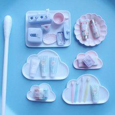 Miniature bathroom ♡ ♡ By Mayumi