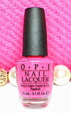 nightflyyy beauty: Candy Spring Pink - Strawberry Margarita by OPI