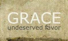 What does grace really mean?