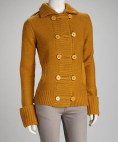 Take a look at this Dijon Ribbed Cardigan - Women by Layer Like So: Women's Sweaters on @zulily today!