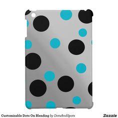 Customizable Dots On Blending iPad Mini Covers