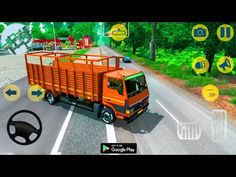 Indian Lorry Transport Truck - Indian Truck - Android Gameplay - YouTube