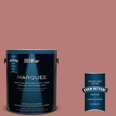 BEHR MARQUEE 1-gal. #PPU2-10 Heirloom Satin Enamel Exterior Paint