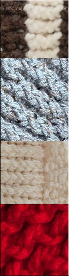 This Moment is Good...: LOOM KNITTING STITCH GUIDE Well written instructions on basic stitches.