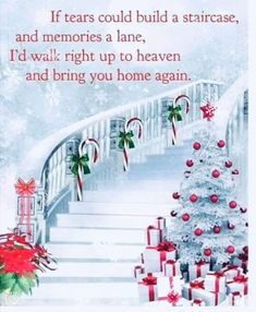 All is calm Mom, but I miss you so, not only at Christmas time, but every day of the year. I know you are spending your second Christmas in Heaven morning with everyone you love & missed so. Merry Christmas Mom, your loving daughter. Christmas Tree Gif, Merry Christmas In Heaven, Merry Christmas Pictures, Christmas Scenery, Christmas Night, Christmas Music, Xmas, Christmas Wishes Quotes, Christmas Messages