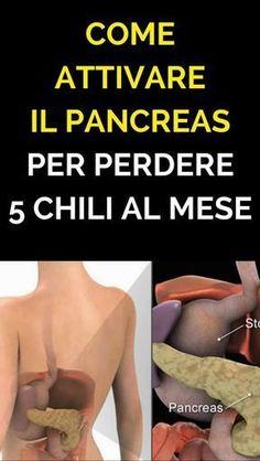 Come Attivare il Pancreas Per Perdere 5 Chili al Mese: Rimedio Naturale