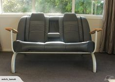 cool car seat couch and two single seaters | Trade Me