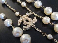 Chanel Winter Rose necklace
