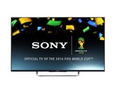 Sony KDL50W829B 50-inch Widescreen Full HD 1080p 3D Smart TV with Freeview - Black