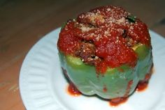 Stuffed Green Peppers - 365 Days of Baking & More
