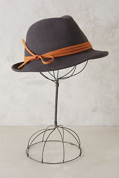 Anthropologie Lusitane Fedora #anthrofav #greigedesign