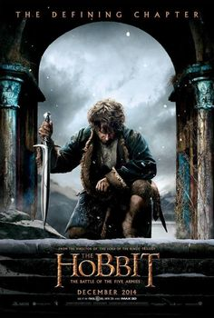 NEW POSTER OF BILBO FOR BATTLE OF FIVE ARMIES. GOODBYE WORLD THIS IS TOO MUCH FOR ME
