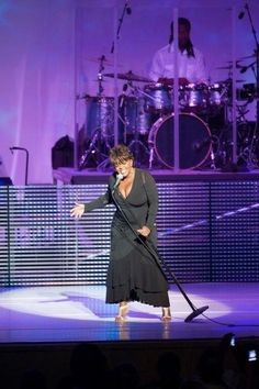 Anita Baker performing at Ravinia in Highland Park, IL. She has definitely still got!