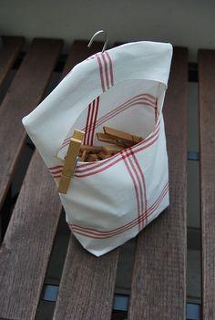 Klammerbeutel clothpin bag