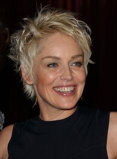 Sharon Stone Photos: In Style Magazine Golden Globe Party