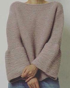 Pullover largo Más