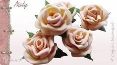 Маленькая Бутонная Роза из Фома Скрапбукинг