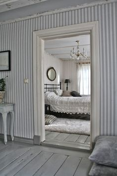 bedroom, old house