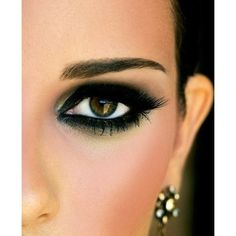 Beauty. / smokey eye via Polyvore