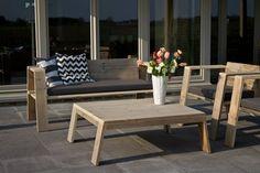 Tuinset steigerhout - PURE Wood Design