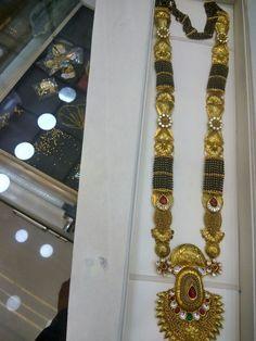Black beads #GoldJewelleryMangalsutra