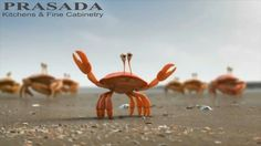De Lijn: Krabben/Crabs Its smarter to travel in groups Funny Commercials, Funny Ads, You Funny, Funny Stuff, Very Funny Gif, Pixar Shorts, Funny Video Clips, Funny Videos, Leader In Me