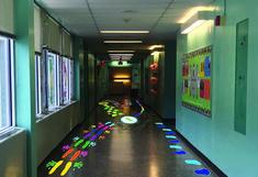 Sensory Path Hallway I Designed For My School Love This