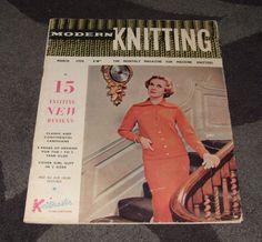 . MACHINE KNITTING MAGAZINE - MODERN KNITTING MARCH 1958