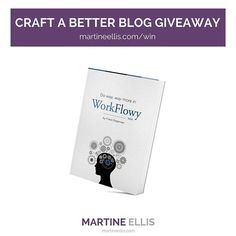 I'm delighted to include Frank Degenaar's amazing ebook Do Way, Way More in Workflowy in my Craft a Better Blog giveaway. Franks's book is part of a prize bundle worth over $500 USD.  Enter here: martineellis.com/win (link in profile)  If you've not yet come across the free, productivity app, Workflowy, then you must have been living under a rock for the past year. Workflowy is a beautifully simple, but incredibly powerful note-taking and outlining tool that can pretty much do whatever you…