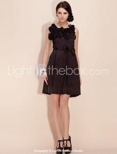 TS Hand sewn Flower Dress - US$ 38.99