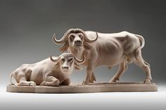 Guiseppe Rumerio sculpts realistic animals