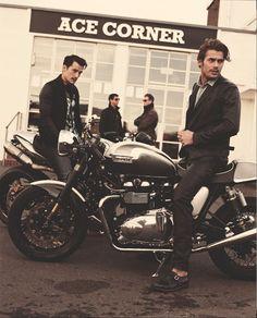 Soo cool mens biker style