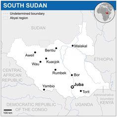 Em 9 de julho de 2011, o Sudão do Sul tornou-se um estado independente. Em 14 de julho de 2011, o Sudão do Sul tornou-se um Estado membro das Nações Unidas (ONU). O país entrou para a União Africana em 28 de julho de 2011.