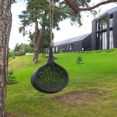 The Manu Nest is a hanging chair like no other. From its pod form and hanging design to its unique volcanic basalt construction, this chair ...